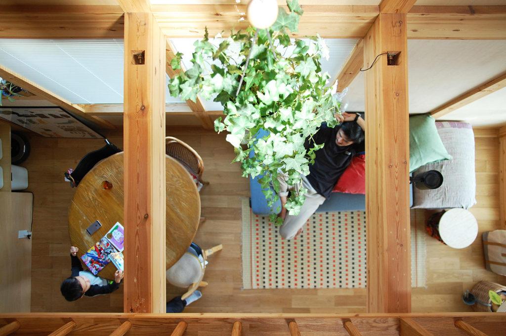 3m幅の木の家 / 堺市中区(狭小住宅)