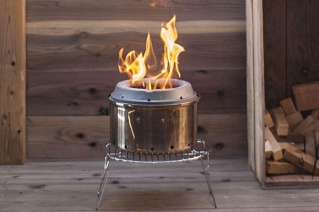 パスタ鍋でソロストーブ・レンジャーを自作したら、二次燃焼ストーブが出来ちゃった。