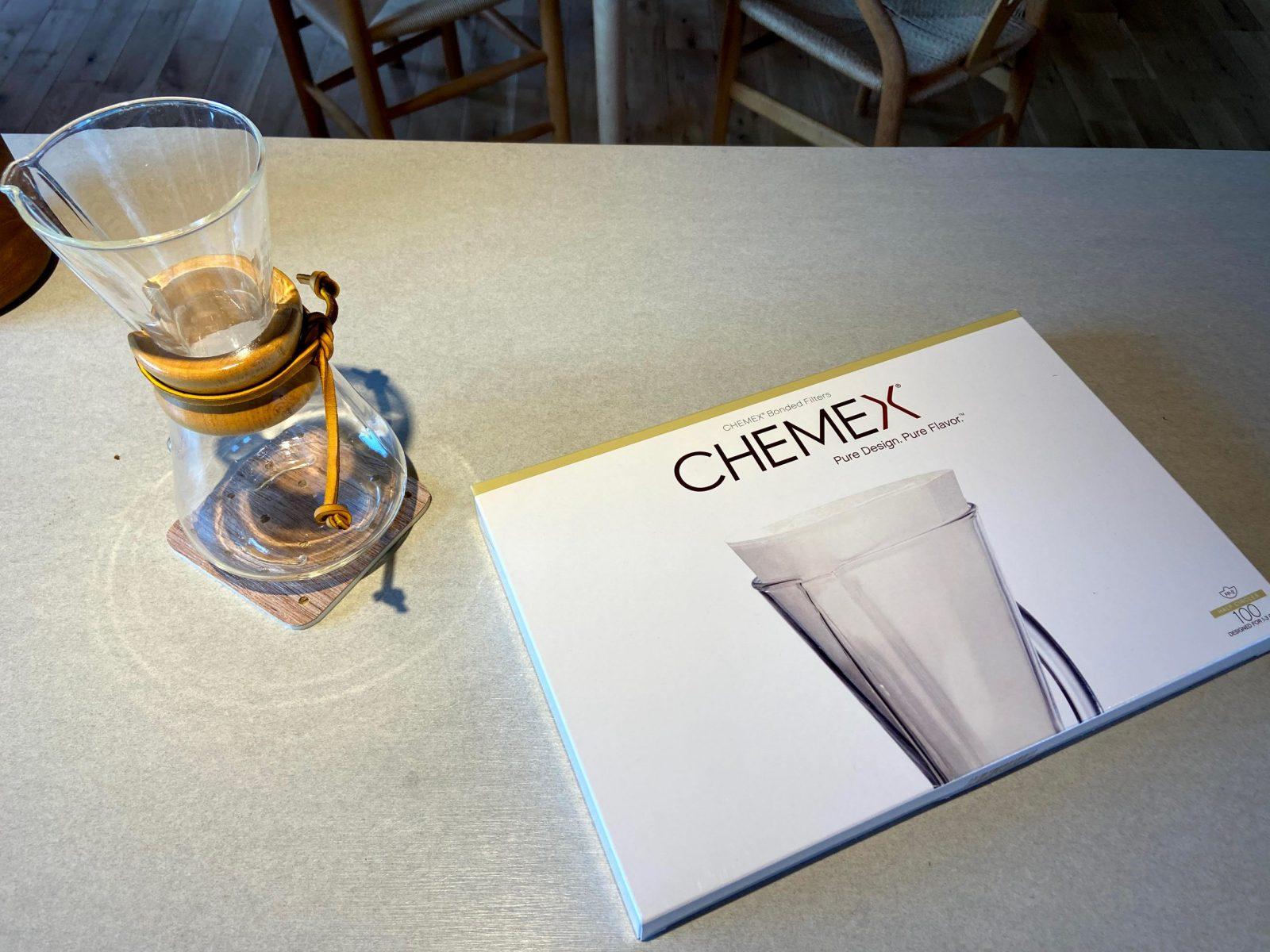 ケメックスの使い方|専用フィルターで美味しいコーヒーを淹れる。