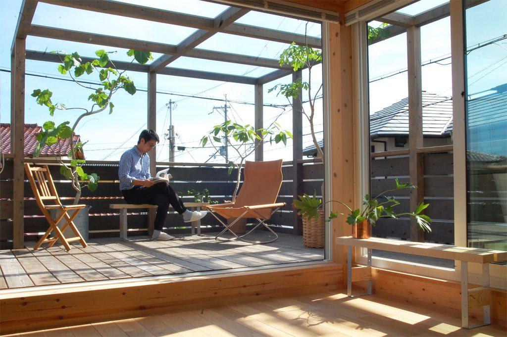 パーゴラのある木の家 / 箕面市桜ヶ丘