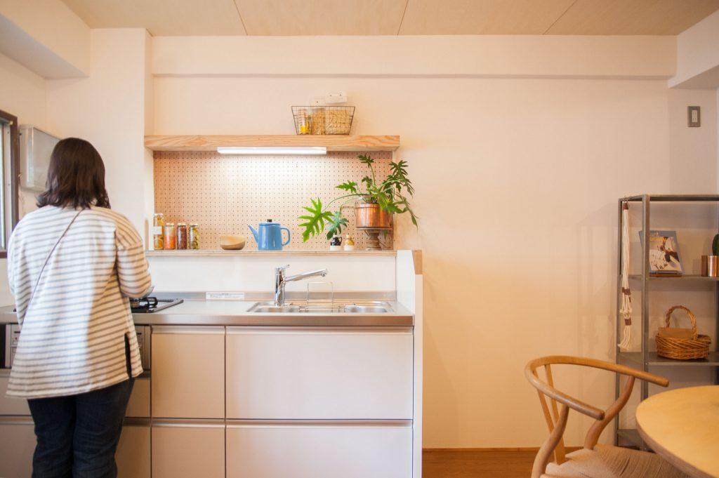 賃貸マンションリノベーション・キッチン