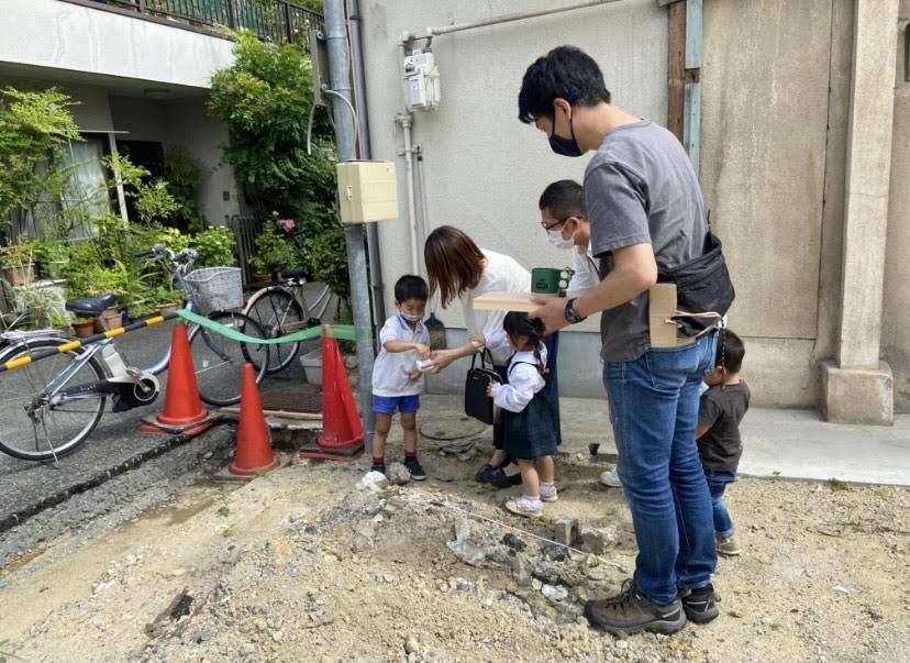 田中工務店流のセルフ地鎮祭を行いました!